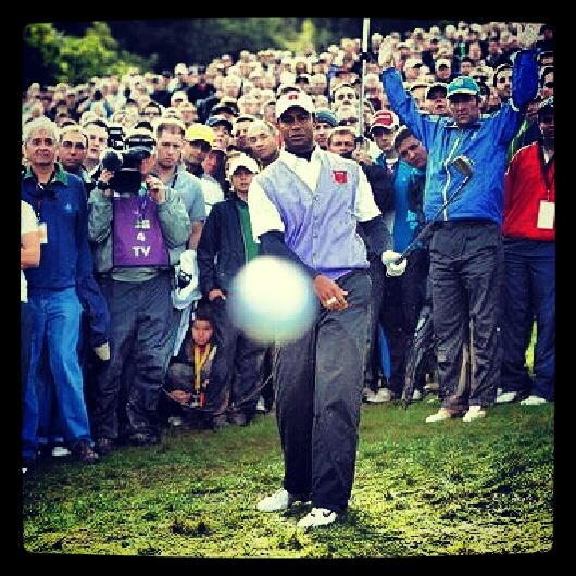 bola golf enfado