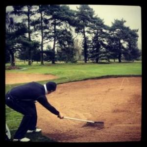 golf rastrillar bunker